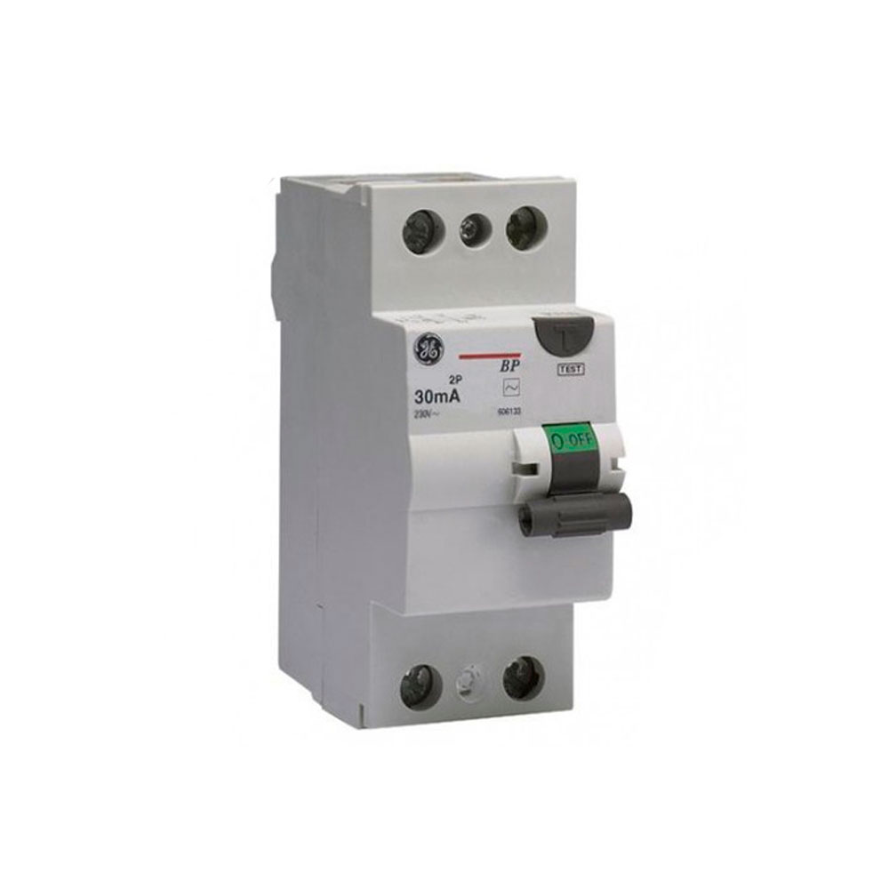 Interruptor Diferencial Bipolar 63A - General Electric