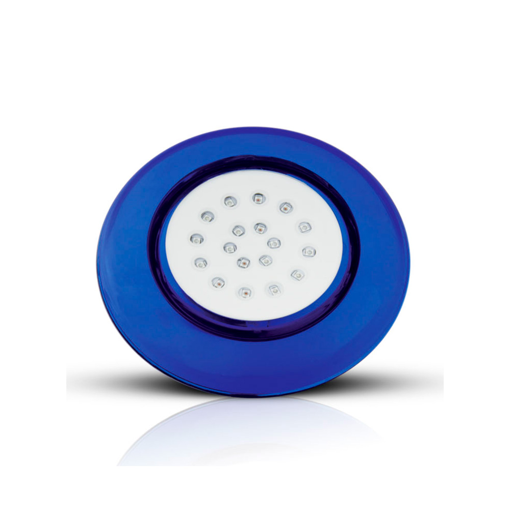 LUM LED PISCINA 18W 12V RGB CP AZ 125MM