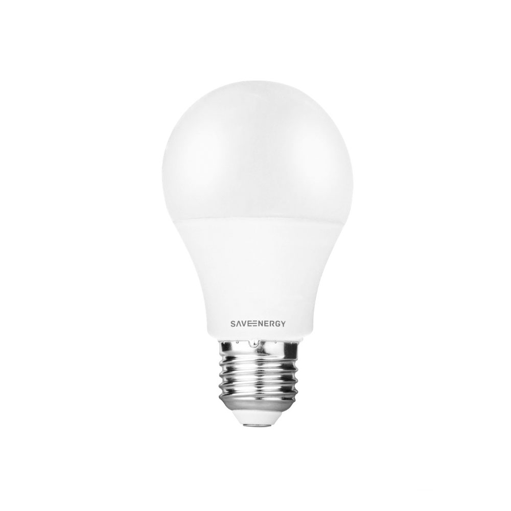 Lâmpada Led Bulbo 9,5W Bivolt Luz Branca - Save Energy